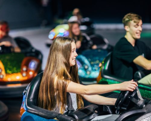 teens-in-bumper-cars-at-movie-world